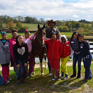 Summer Equestrian Program for Girls Began
